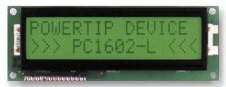 PC1602ARS-CWA-A-Q|POWERTIP CORP